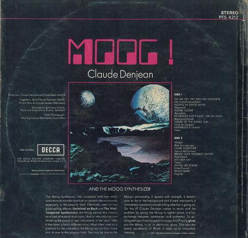 Moog - Claude Denjean